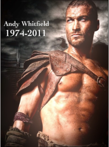 RIP Andy Whitfield