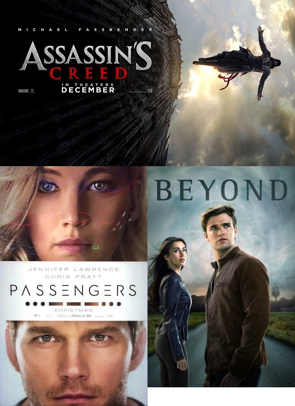 Season 12 Episode 1 Assassin's Creed, Passengers, Beyond, Spies