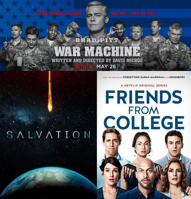 IIAB Season 12 Episode 19, War Machine, Salvation, Friends From College
