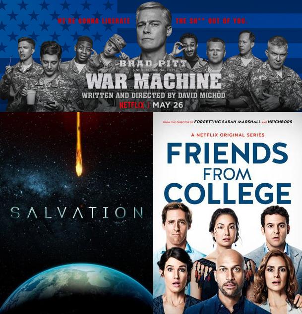 IIAB Season 12 Episode 19, War Machine, Salvation, Friends From College