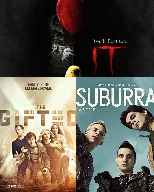 IIAB Season 13 Episode 4 – IT, Suburra, The Gifted |    is