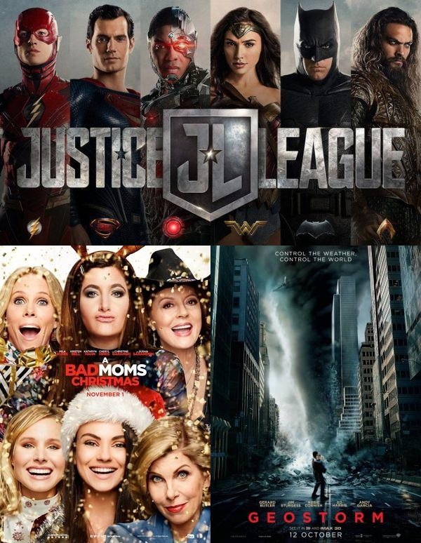 A Bad Moms Christmas Movie Poster.Iiab Season 13 Episode 07 Justice League Geostorm A Bad